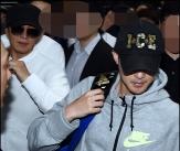 배용준 '김현중 입소식까지 배웅'