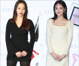 안소희-이주연 '블랙&화이트 미모대결'