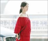 아이린, '공항에 나타난 레드 여신'