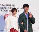 류현경-박혁권, '부산 팬들의 환호 받으며'