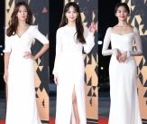 'KBS 연기대상' 빛낸 순백의 여신들