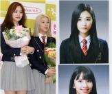 쯔위-채영, '트와이스 막둥이들 졸업합니다'