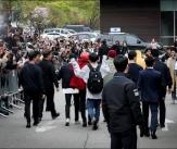 방탄소년단, '월드스타의 출근길'