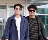송강호-이선균, '두 배우들의 칸 출국 패션'