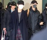 입국하는 BTS