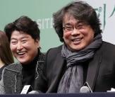 금의환향 '기생충' 행복한 기자회견!