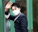 김희재 '멋진 해군제복'