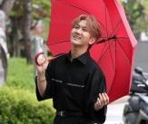 김수찬 '빨간우산 쓴 프린수찬'