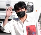김호중 '사회복무요원 첫 출근'