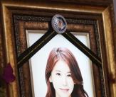 故 오인혜 '영정 속 미소만 남기고'