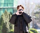 김성규 '귀여운 눈웃음과 하트'