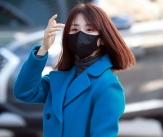 박하선 '센스있는 출근길 패션'