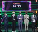 방탄소년단, 골든디스크 음반 대상 4년연속 수상