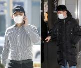 김형인-최재욱 '불법도박장 개설 혐의' 공판 출석
