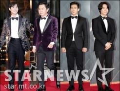 '<strong>SBS</strong> 연기대상' 男 스타들의 멋진 턱시도 패션