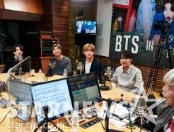 방탄소년단 '배철수와 즐거운 시간'