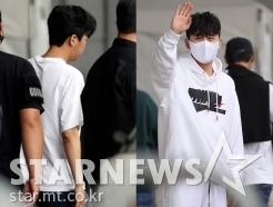 임영웅-영탁 '같은 상황, 다른 인사'