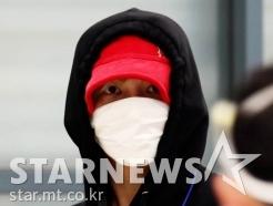 김재중 '건강한 모습으로 입국!'