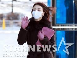 박하선 '날씨가 너무 춥네요!'