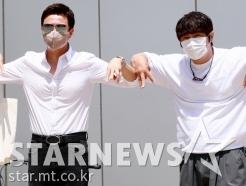 MSG워너비 김정민-KCM '우아한 인사!'