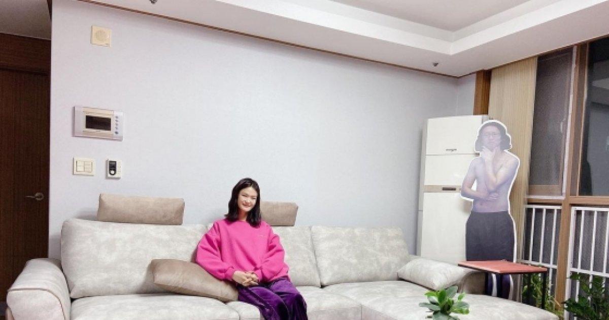'김경진♥' 전수민, 신혼의 럭셔리 집 꾸미기 '모델하우스 같아 ...