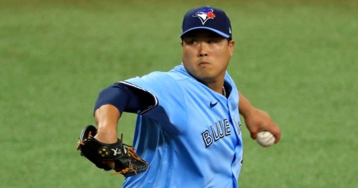 """Ace RYU의 대성공, 토론토 스톰 모집 가속화""MLB.com 칭찬"