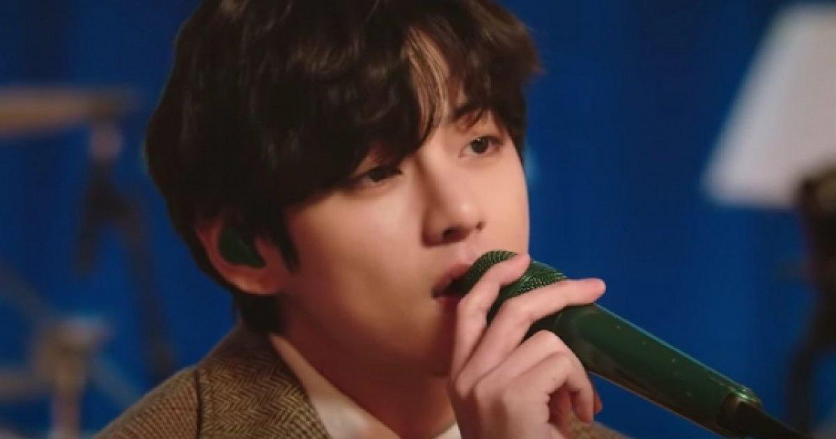방탄 소년단 뷔, '완벽한 외모 + 생방송'MTV 언플러그드 프리뷰 영상 '포커스 아이즈 스타 뉴스